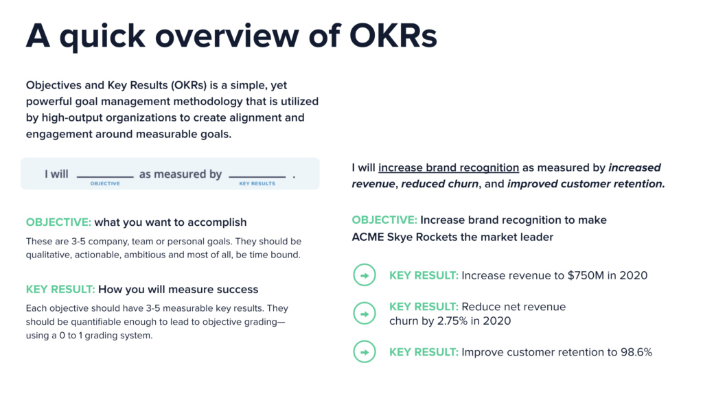 OKR Overview